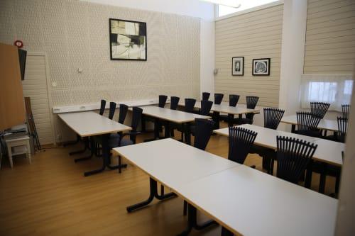 Undervisningsrommet - Møterom i klasseromsoppsett