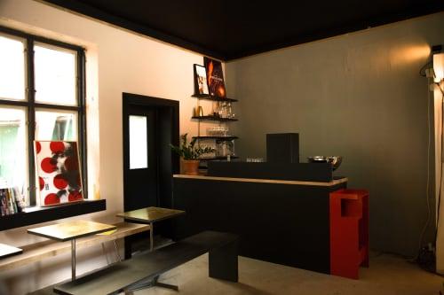 Selskapslokale og åpent lokale - Klubbhuset