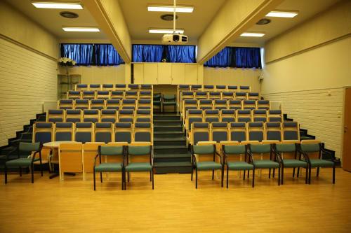 Auditorierommet - Auditorium til 75 stykker med AV utstyr