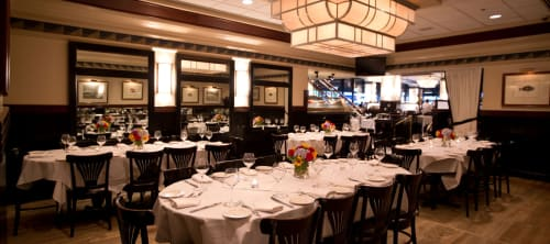 Docks Oyster Bar - Private Dining Room Occupancy: 72 seated/80 standing