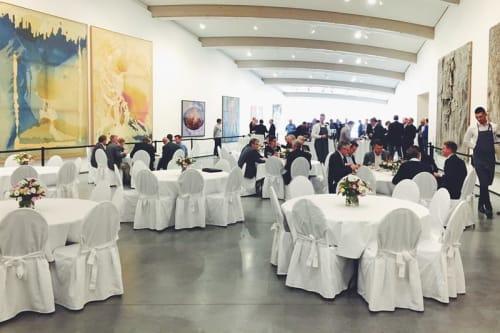 Arrangementslokaler omgitt av kunst