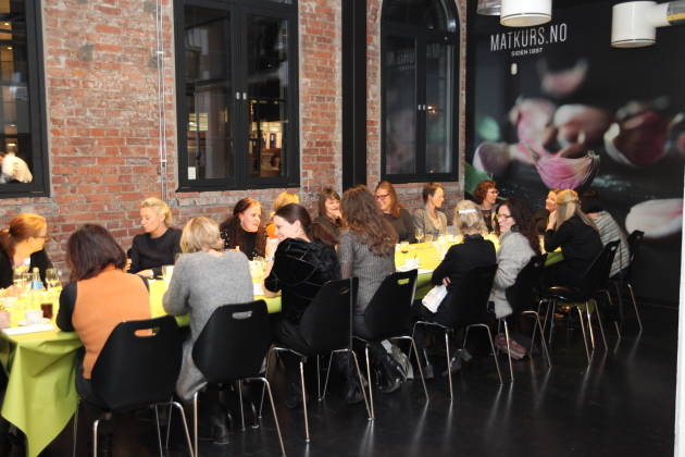 Matkurs.no - Møtelokale med egen aktivitet