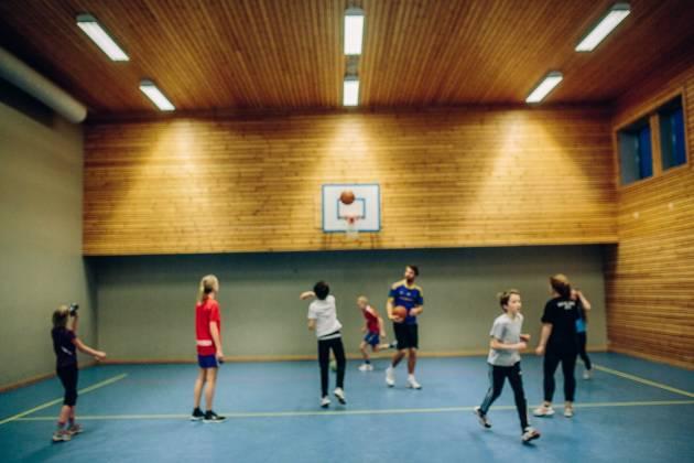 Fellesskapshuset - Gymsalen