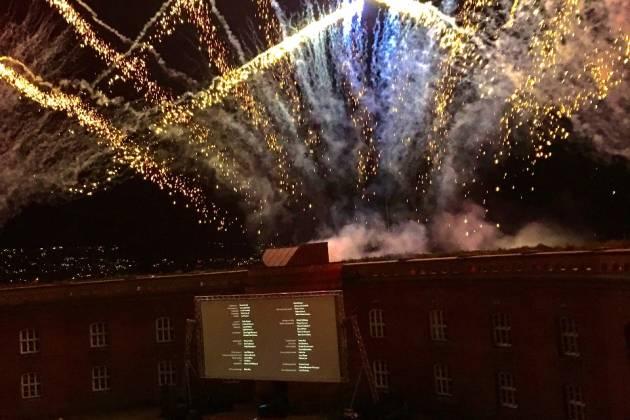 Oscarsborg Festning - Festsalen i Hovedfortet
