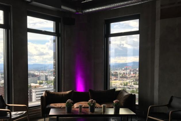 Tårnet Kulturarena - Panorama-Toppetasjen Skybar