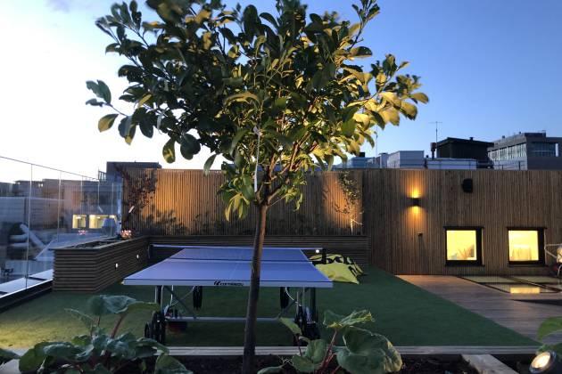 Urban Garden - Takterrasse