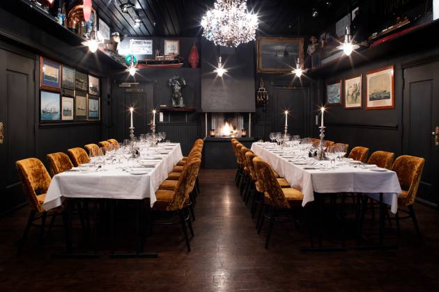 Louise Restaurant - Selskapslokaler & Chambre Séparée
