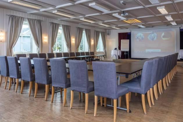 Tregården Restaurant  - Storsalen for møte og konferanse