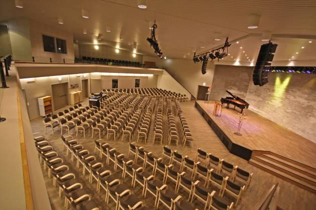Fellesskapshuset - Hovedsalen