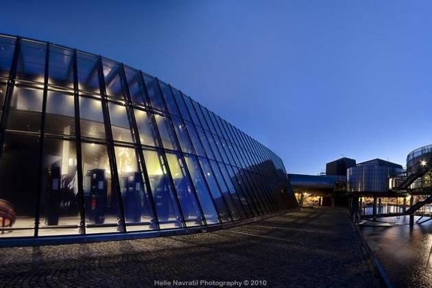 Norsk Oljemuseum - Mingling i museet