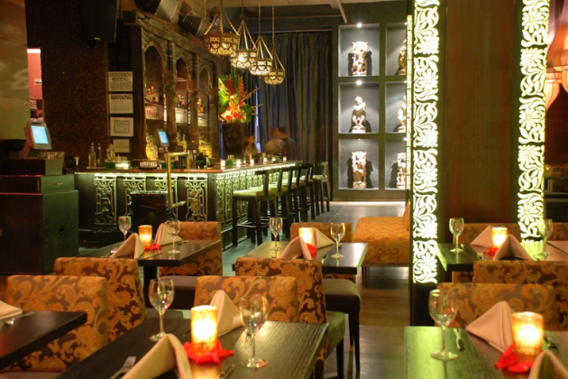 Taj II  - Indian Themed Restaurant and Lounge for Private Events