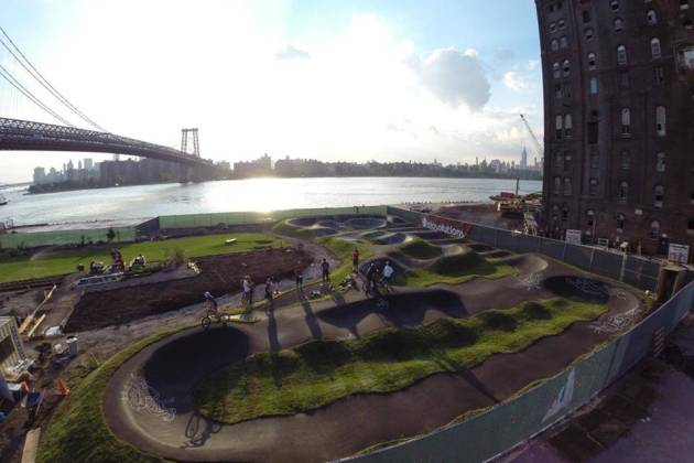 Velosolutions Pumptrack Brooklyn - Private Outdoor Park