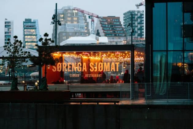 Sørenga Sjømat - Fersk sjømat på havnepromenaden