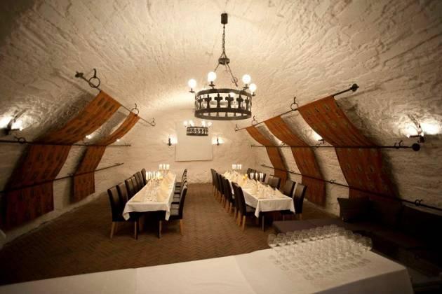 Restaurant Kommandanten - Flotte selskapslokaler ved Kristiansen festning
