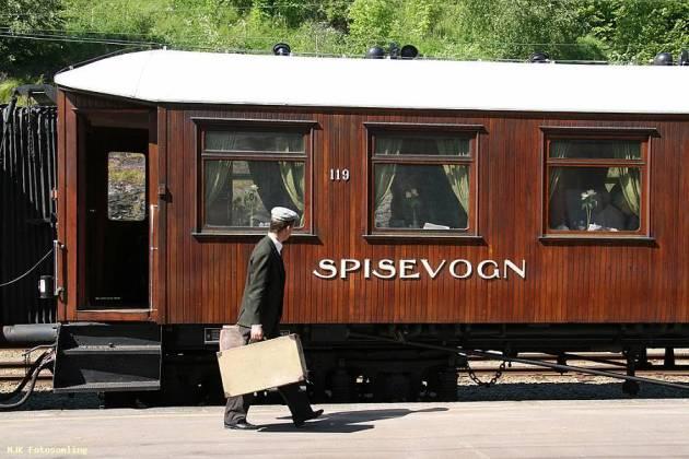 Historiske togreiser - Selskapslokale