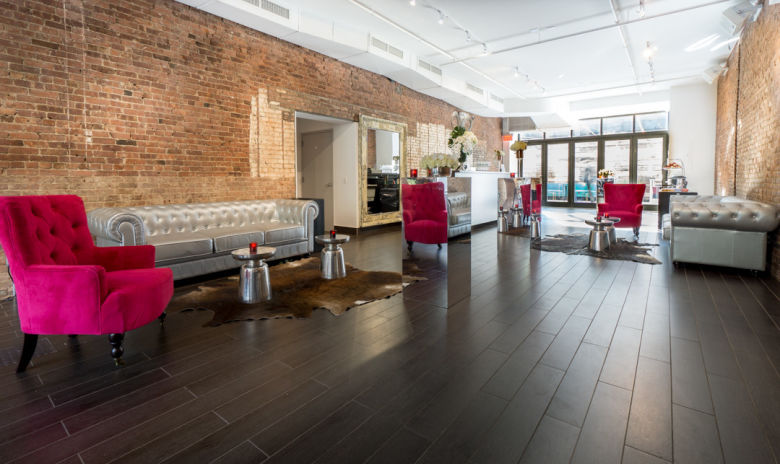 287 Gallery - Raw Space and Outdoor Patio - Private event setup