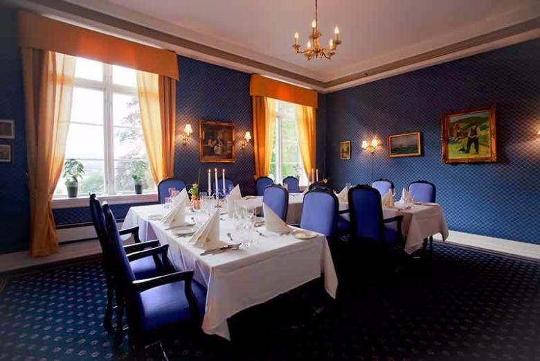 Utleie av fjordslottet hotell   den blå stuen fra eventum.no