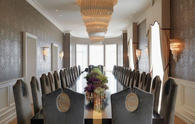 Chitra House Oslo - Unike opplevelser i eksklusiv villa - Dining room