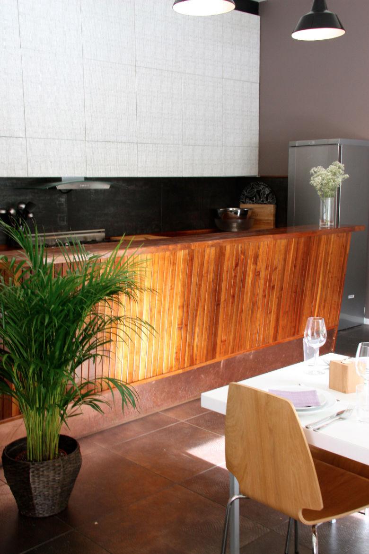 Cantina Paradiso - Kjempe fin arbeidsbenk til kjøkkenet.