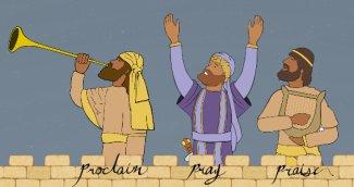 Jerusalem House of Prayer for All Nations , Tom Hess