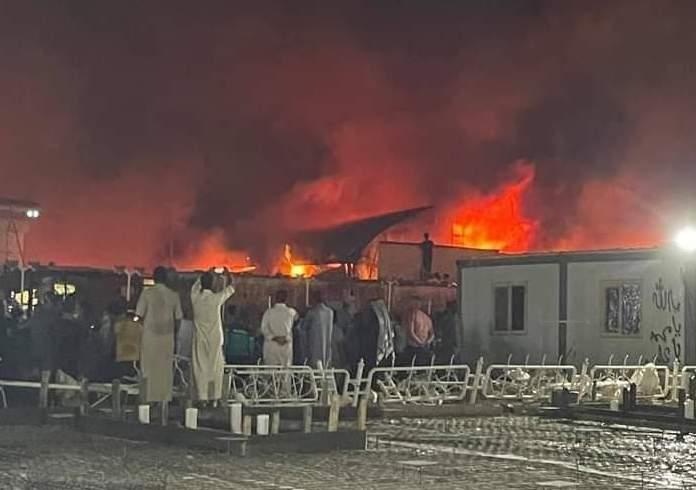 Nearly 100 dead in catastrophic fire at COVID ward in Iraq