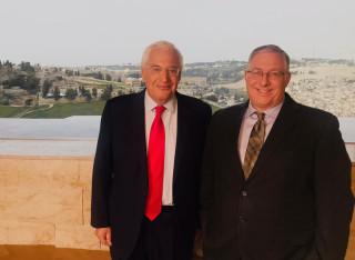 Joel Rosenberg and Amb. David Friedman