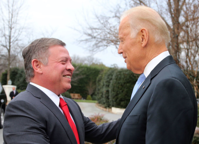 Biden set to welcome Jordan's King Abdullah in DC today – a day after Jordanian complaint over Jewish prayers on Temple Mount