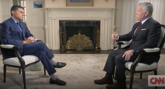 Jordan's king tells CNN he was 'encouraged' by meetings with Israeli leaders