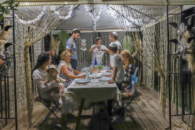Israel celebrates Sukkot, the Feast of Tabernacles