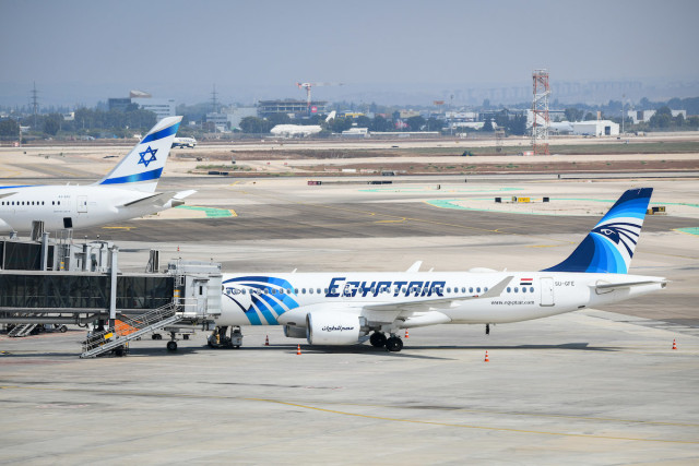 Egyptair announces publicly it is operating flights between Cairo-Tel Aviv, looking to open a route to Sharm el-Sheikh