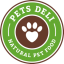 logo for 'Blind Lunch Pets Deli'