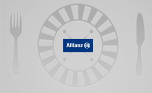 logo for 'Allianz Lunch Roulette'