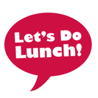logo for 'Let's do lunch!'