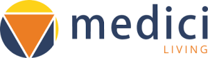 logo for 'Medici Living'