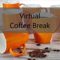 logo for 'Virtual Coffee Break'
