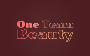 logo for 'ONE TEAM BEAUTY'