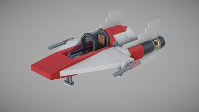 Cover of A-wing Interceptor