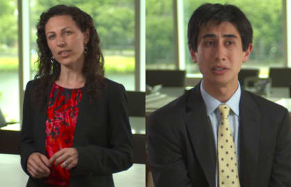 John Beshears and Francesca Gino, faculty cochairs, Behavioral Economics HBS Executive Education