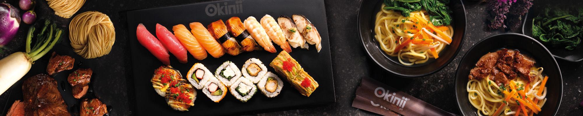 Okinii Sushi & Grill Warengruppenbild