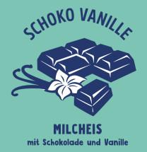 Milcheis Schoko-Vanille
