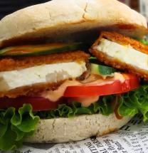 Weichkäseburger