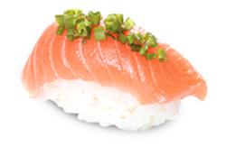 Salmon Philly Nigiri mit Lachs und Frischkäse