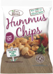 Hummus Chips Tomate Basilikum
