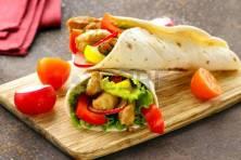 Salsa Chicken Wrap