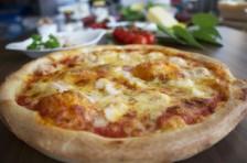 Krabbenpizza