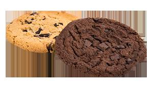 Cookie dunkel