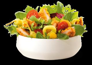 Crunchy Chicken Salat, groß