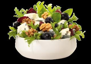 Walnuss-Gorgonzola Salat, groß