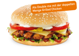 Grilled Chicken Double me