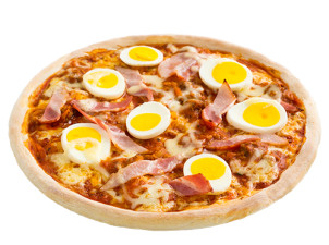 Jumbo Pizza Crazy Egg